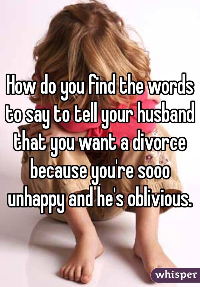 How Do You Know If You Want A Divorce